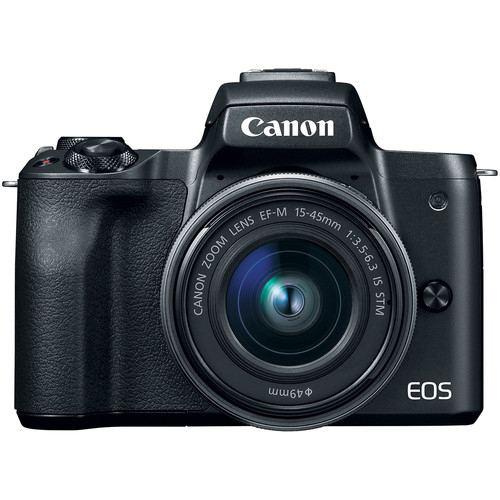 Canon EOS M50 Mirrorless Digital Camera with 15 45mm Black 4