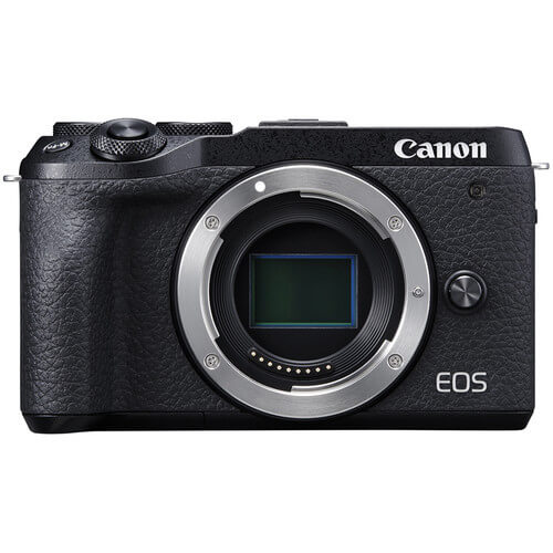 Canon EOS M6 Mark II Mirrorless Digital Camera Body Only Black 1