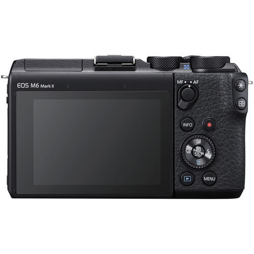 Canon EOS M6 Mark II Mirrorless Digital Camera Body Only Black 2