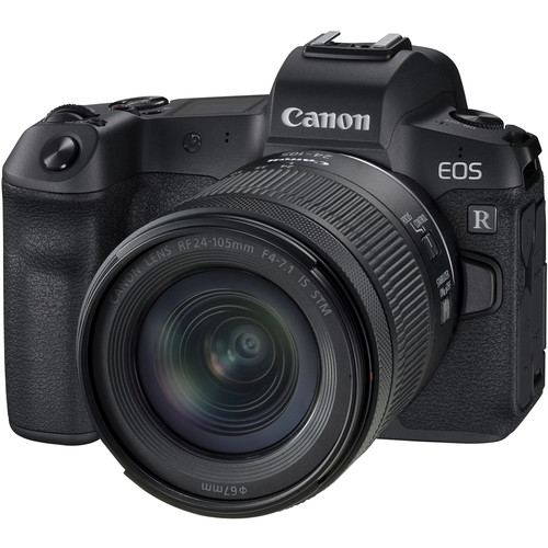 Canon EOS R Mirrorless Digital Camera with 24 105mm f4 7.1 Lens 1