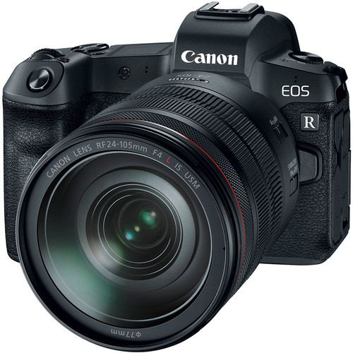 Canon EOS R Mirrorless Digital Camera with 24 105mm f4L Lens 1