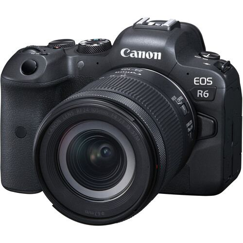 Canon EOS R6 Mirrorless Digital Camera with 24 105mm STM Lens 2