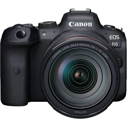 Canon EOS R6 Mirrorless Digital Camera with 24 105mm USM Lens 1