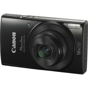 Canon PowerShot ELPH 190 IS Digital Camera Black 1