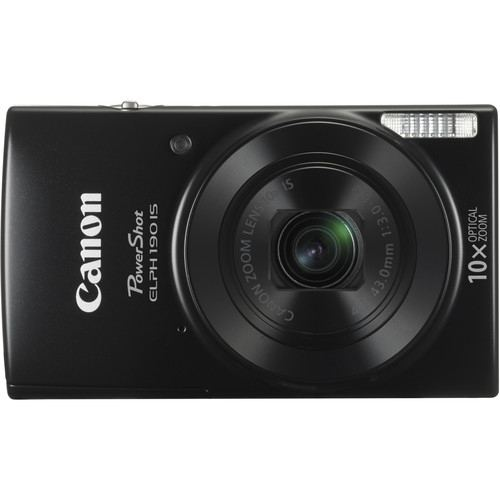 Canon PowerShot ELPH 190 IS Digital Camera Black 2