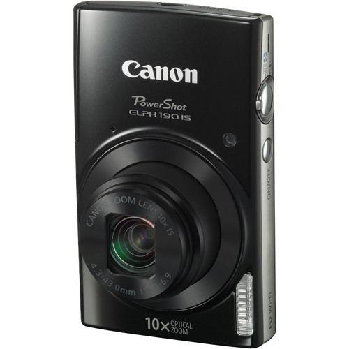 Canon PowerShot ELPH 190 IS Digital Camera Black 3