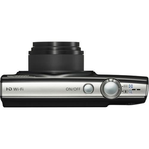 Canon PowerShot ELPH 190 IS Digital Camera Black 6