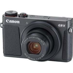 Canon PowerShot G9 X Mark II Digital Camera Black 1