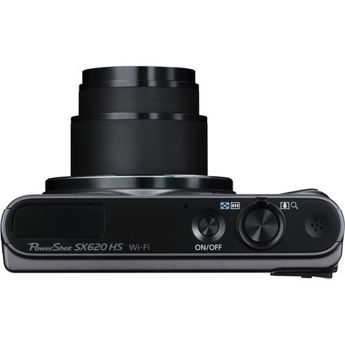 Canon PowerShot SX620 HS Digital Camera Black 4