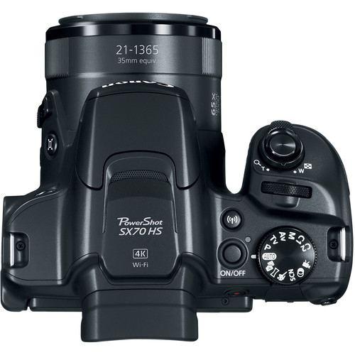 Canon PowerShot SX70 HS Digital Camera 4