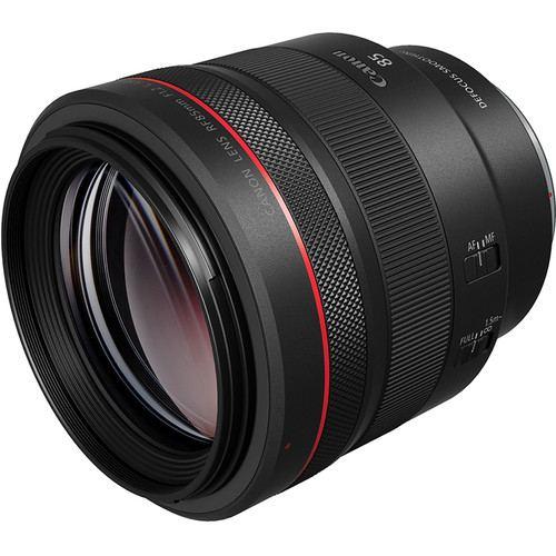 Canon RF 85mm f12L USM DS Lens 4