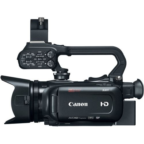 Canon XA11 Compact Full HD Camcorder with HDMI and Composite Output 5