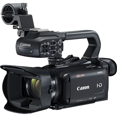Canon XA15 Compact Full HD Camcorder with SDI HDMI and Composite Output 1