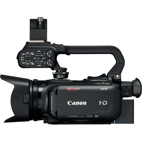 Canon XA15 Compact Full HD Camcorder with SDI HDMI and Composite Output 3