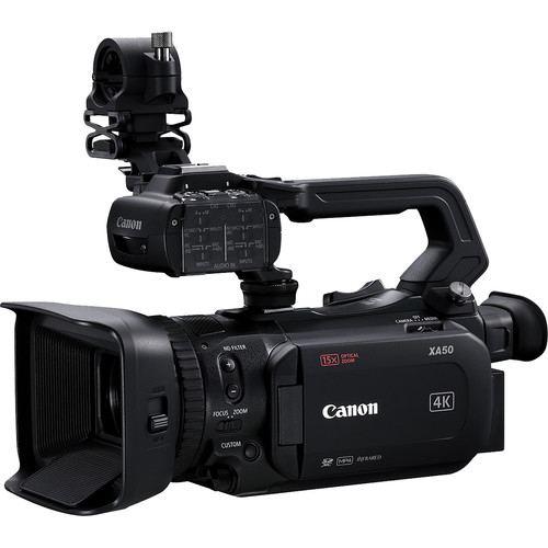 Canon XA50 UHD 4K30 Camcorder with Dual Pixel Autofocus 3