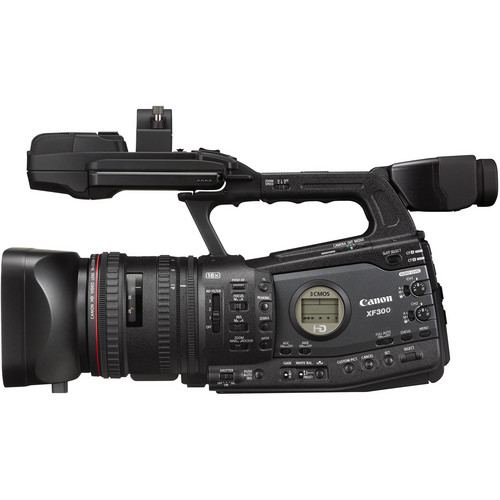 Canon XF300 Professional Camcorder 2