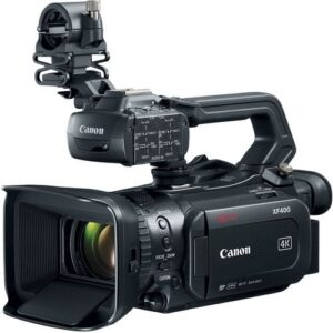Canon XF400 UHD 4K60 Camcorder with Dual Pixel Autofocus 1