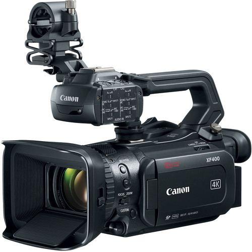 Canon XF400 UHD 4K60 Camcorder with Dual Pixel Autofocus 1