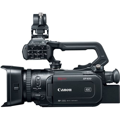 Canon XF400 UHD 4K60 Camcorder with Dual Pixel Autofocus 4