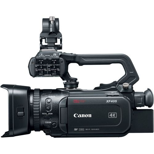 Canon XF405 UHD 4K60 Camcorder with Dual Pixel Autofocus with 3G SDI Output 4