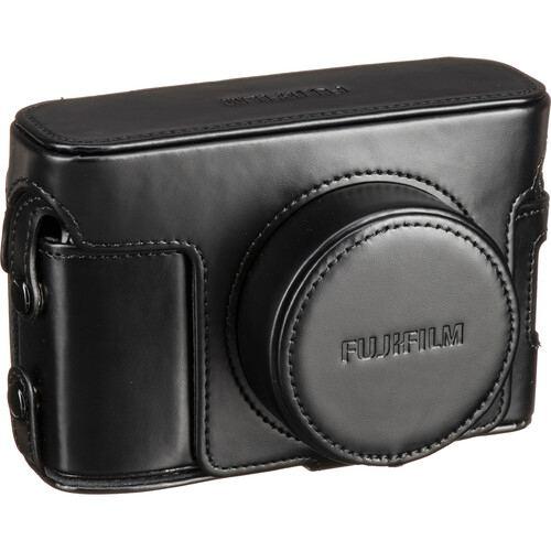 FUJIFILM BLC X100V Leather Case Black 2