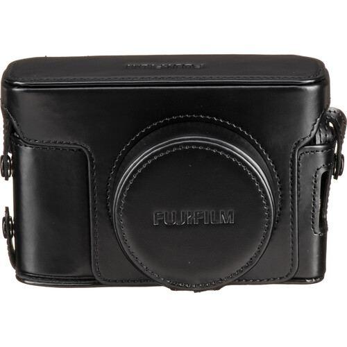 FUJIFILM BLC X100V Leather Case Black 3