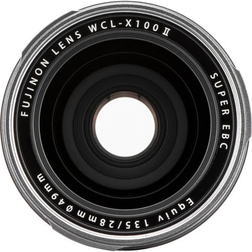FUJIFILM WCL X100 II Wide Conversion Lens 3