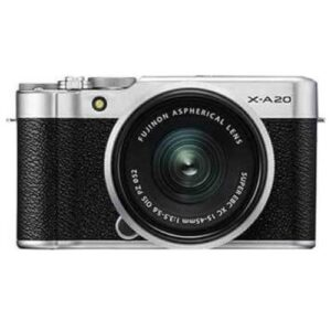 FUJIFILM X A20 Mirrorless Digital Camera Kit 15 45MM Silver1