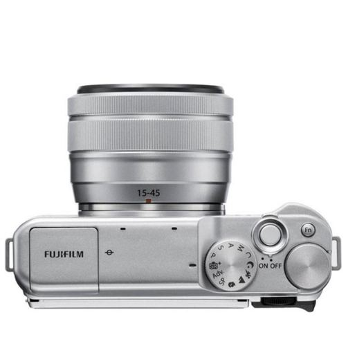 FUJIFILM X A20 Mirrorless Digital Camera Kit 15 45MM Silver4