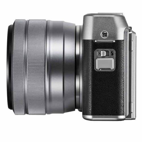FUJIFILM X A5 Mirrorless Digital Camera Kit 15 45MM Silver4