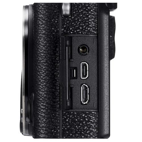 FUJIFILM X E3 Mirrorless Digital Camera BO Black4