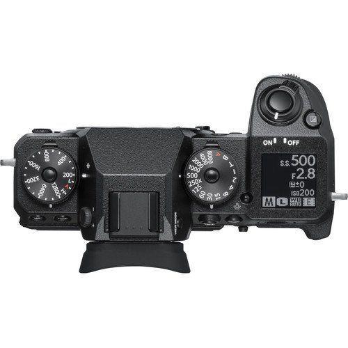 FUJIFILM X H1 Mirrorless Digital Camera Body Only Black3