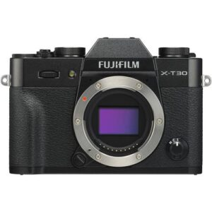 FUJIFILM X T30 Mirrorless Digital Camera Body Only Black1 1