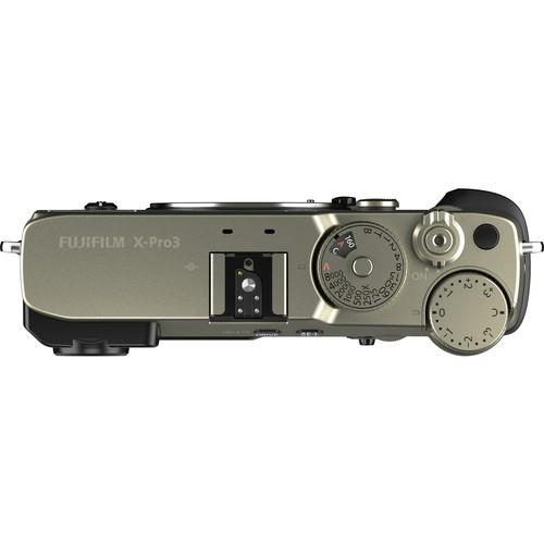 Fujifilm X PRO3 Mirrorless Digital Camera dura silver4