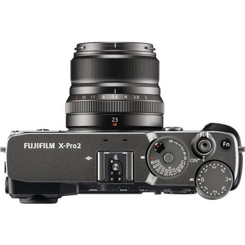Fujifilm X Pro2 Mirrorless Digital Camera Kit XF23MM F2 Graphite Silver 2