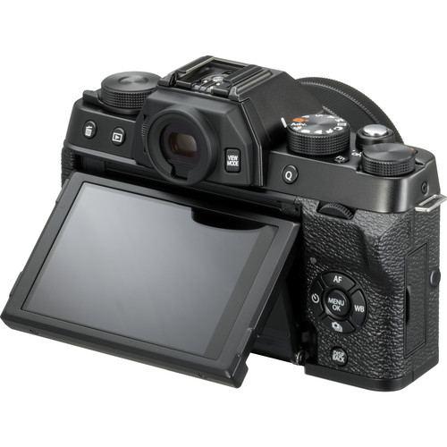 Fujifilm X T100 Body Only Black 3