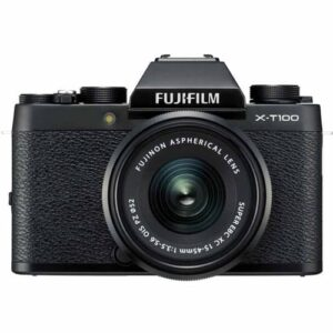 Fujifilm X T100 Kit 15 45mm Black 1