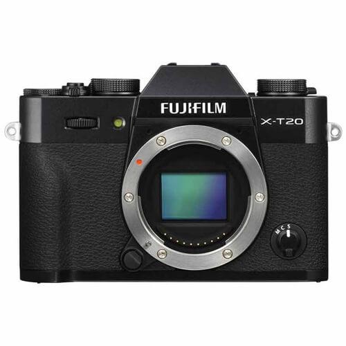 Fujifilm X T20 Body Only Black1