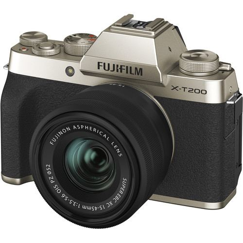Fujifilm X T200 Kit1545 Gold 4
