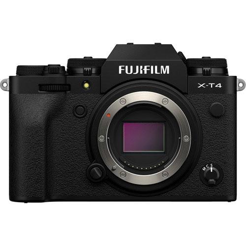 Fujifilm X T4 BO Black 1