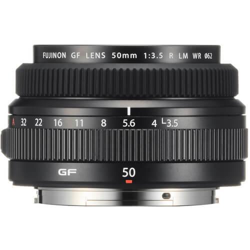 Fujinon Lens GF 50mm f3 R WR 1