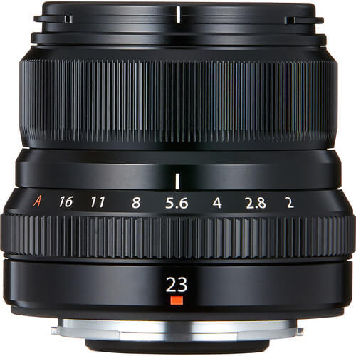 Fujinon Lens XF 23MM F2 Black 2