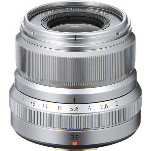 Fujinon Lens XF 23MM F2 Silver 1