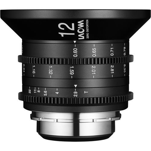 Laowa Venus Optics 12mm T29 Zero D Cine Lens 1