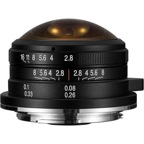 Laowa Venus Optics 4mm f28 Fisheye Lens 1