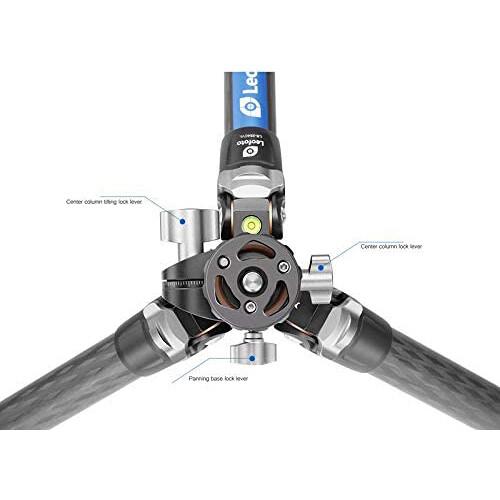 Leofoto LS 284CVL Ranger Series Carbon 6