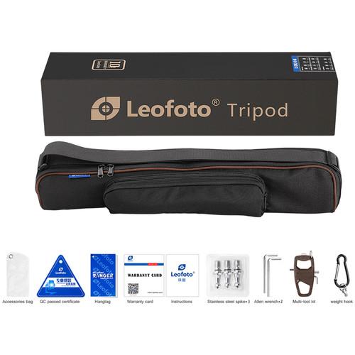 Leofoto LS 365C Ranger Series Compact Carbon Fiber Tripod 6