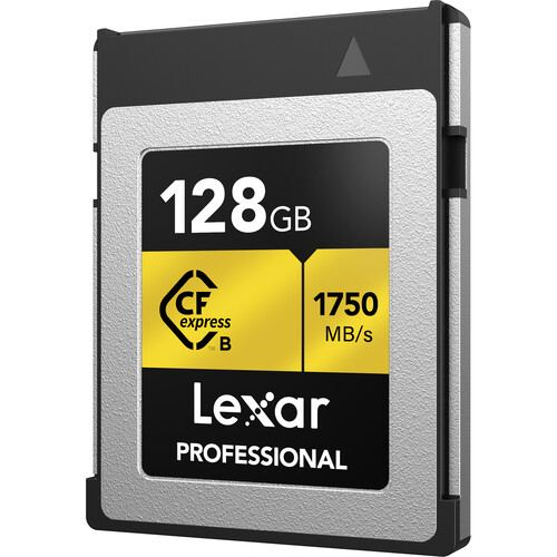 Lexar 128GB Professional CFexpress Type B Memory Card 3