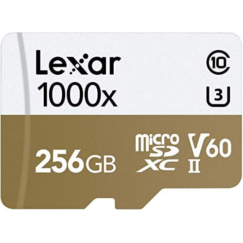 Lexar 256GB Professional 1000x UHS II microSDXC Memory Card with SD Adapter 2
