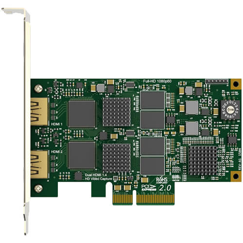 Magewell Pro Capture Dual HDMI Card 2